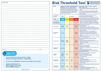 Risk Threshold Tool