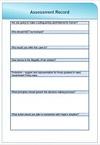 Prevent Assessment Record