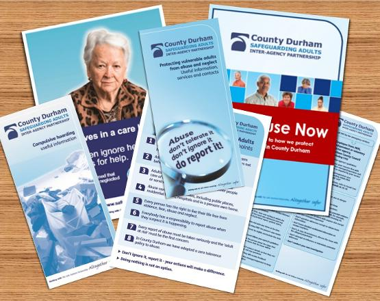 Leaflets and posters